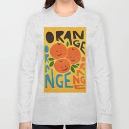 Orange A Tang Long Sleeve T-shirt