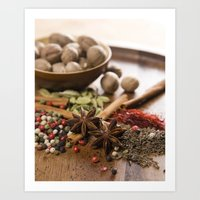 spice Art Prints featuring Spice by Candace N'Diaye