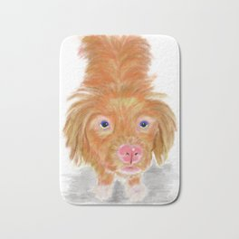 Jackson The Nova Scotia Duck Tolling Retriever Bath Mat