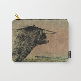 Alone bull Carry-All Pouch
