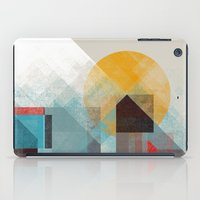 mountains iPad Cases featuring Over mountains by Efi Tolia