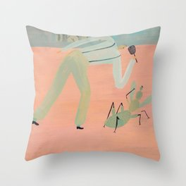 Bug Problems Throw Pillow