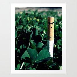 Sniper Cigarette Art Print