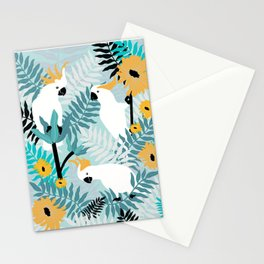 Playful Cockatoos  Stationery Cards