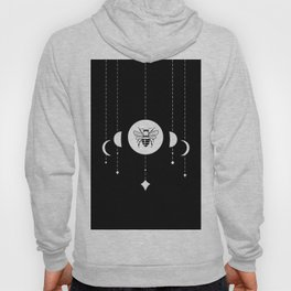 Bee & Moon Phases Hoody