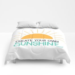 Create Your Own Sunshine Comforters