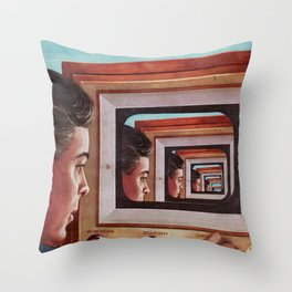 'Everything, All Of The Time' Throw Pillow