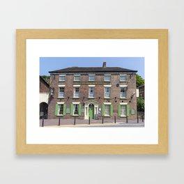 Tontine hotel Framed Art Print
