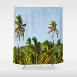 Palm Trees Pt. 4 Shower Curtain