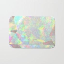 Milky White Opal Bath Mat