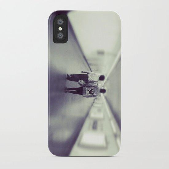 Long Walk Home iPhone Case