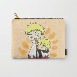 Naruto and Boruto Uzumaki Carry-All Pouch