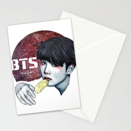 SUGA -BTS- Stationery Cards