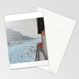 Johnny and The Red Canoe Stationery Cards