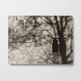 Mistery window. Infantas tower. Alhambra. Spain Metal Print