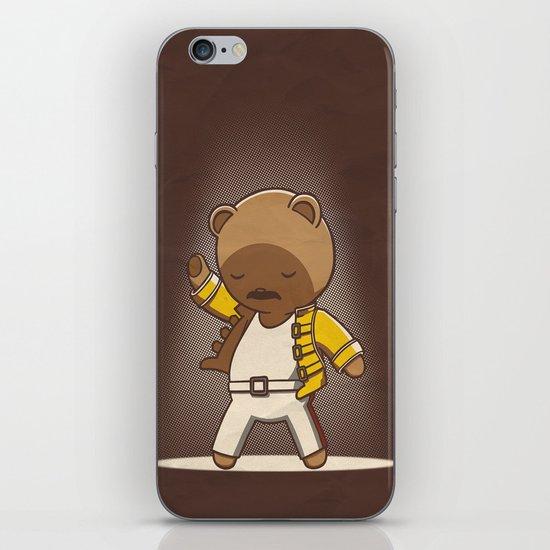 Teddy Mercury iPhone & iPod Skin