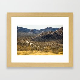 Geology Tour Road Framed Art Print