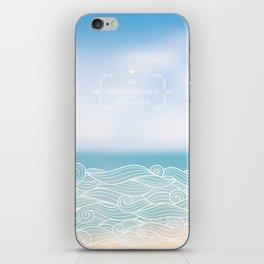 My personal sea iPhone Skin