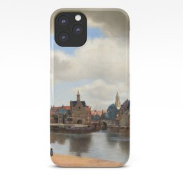 """Johannes Vermeer """"View of Delft"""" iPhone Case"""