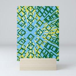 hollow brick01_01 Mini Art Print