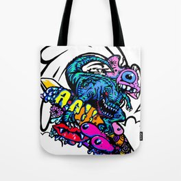 Dinosaur Wipe-Out Tote Bag