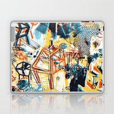yellowredblueandblack Laptop & iPad Skin
