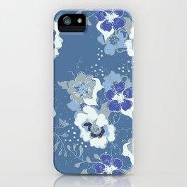romantic floral iPhone Case