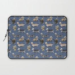 Blue Dandie Dinmont Terriers Laptop Sleeve