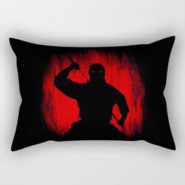 Ninja / Samurai Warrior Rectangular Pillow