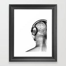 To Hear, To Listen Framed Art Print