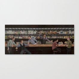 Dream House Bar Canvas Print