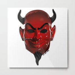 Red Devil Metal Print