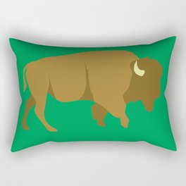 Bison Rectangular Pillow