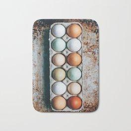 Farm Eggs Bath Mat