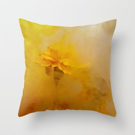 Marigold I Throw Pillow