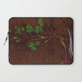 Western juniper tree portrait Laptop Sleeve