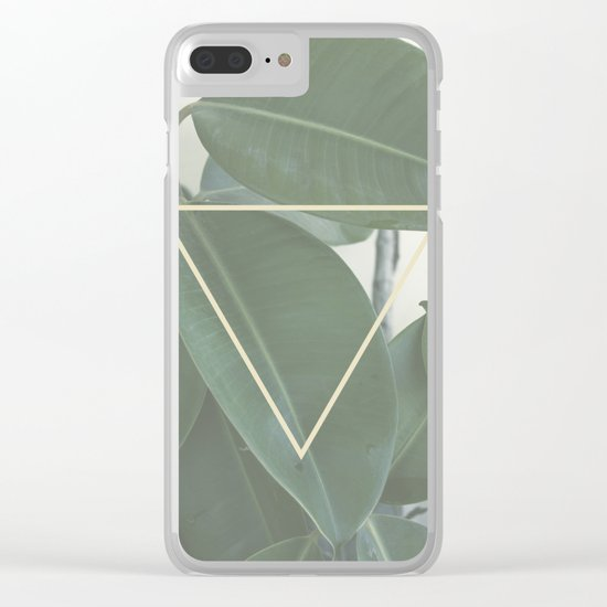 ficus nature Clear iPhone Case