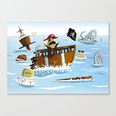 Pirates Canvas Print