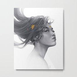 Xing Metal Print