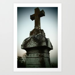Ancient Cross Art Print