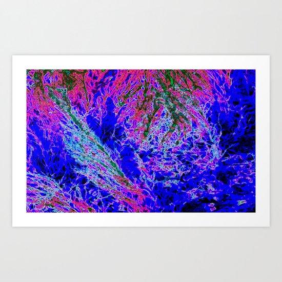 abstract xxx5 Art Print