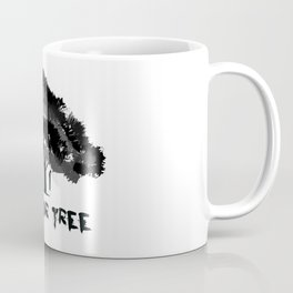 Trick or tree (B+W) Coffee Mug
