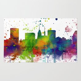 Baltimore Skyline Rug