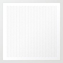 Fuck You - Pin Stripe - Conor McGregor Black Art Print