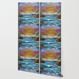 """Somewhere Sunset"" Wallpaper"