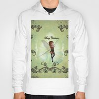 elf Hoodies featuring Christmas elf by nicky2342