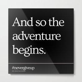 9     Simple Short Quotes   200818   Short Inspiring Motivational Inspirational Quotes Metal Print