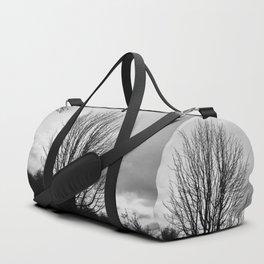 Deadly monochromatic tree Duffle Bag