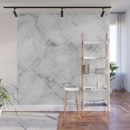 Etched Marble Wall Mural