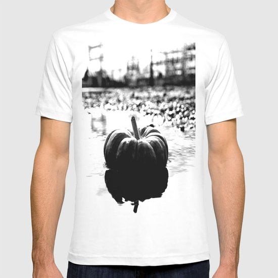 Power plant pumpkin T-shirt